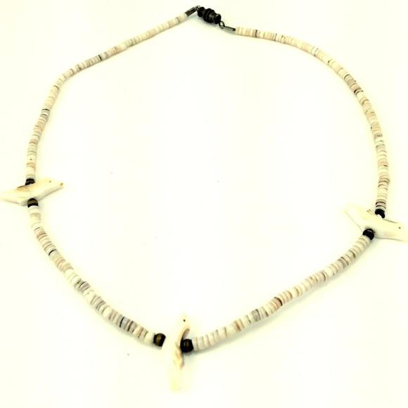 Jewelry - 1970'S BIRD FETISH NECKLACE HEISHI VINTAGE MOP